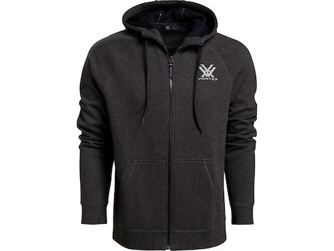 Vortex Optics Men's Core Logo Full Zip Comfort Hoodie