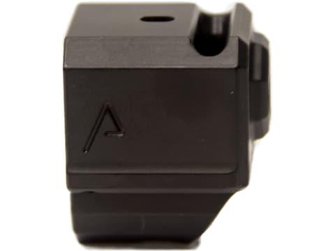 "Agency Arms 417 Single Port Compensator Glock 43 9mm 1/2""-28 Thread Aluminum"