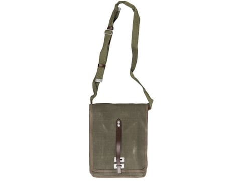 Military Surplus Polish Canvas Map Case Olive Drab Grade 2