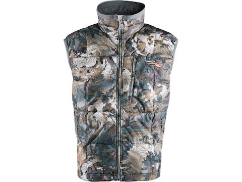 Sitka Gear Men's Fahrenheit Insulated Vest Polyester Gore Optifade Waterfowl Marsh Camo