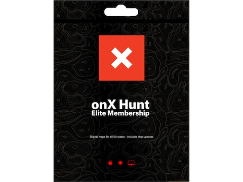 OnX Hunt Maps Elite Hunt 1 Year Membership