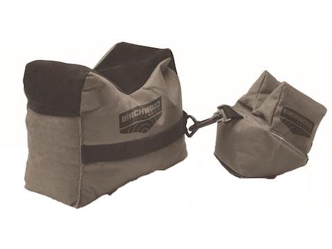 Birchwood Casey Front and Rear Shooting Rest Bag Set Nylon