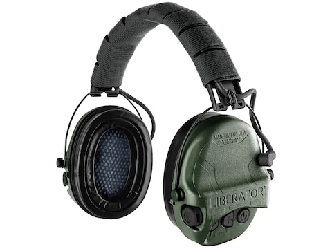 Safariland Liberator Electronic Earmuffs with Adaptive Suspension (NRR 26dB)