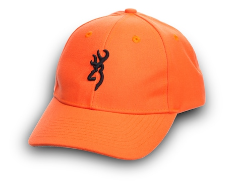 Browning Youth Safety With 3-D Buck Mark Cap Blaze/Black
