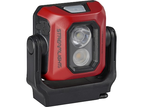 Streamlight Syclone Flashlight LED with Rechargeable Lithium Battery Polymer Red