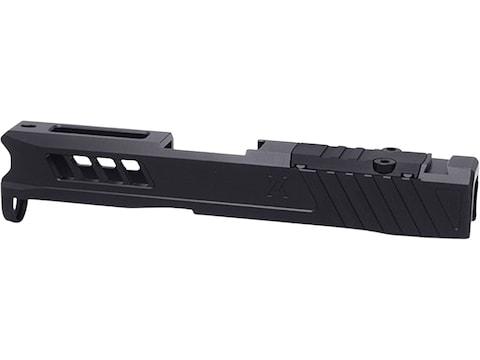 True Precision Axiom Slide Glock 43, 43X RMS-C Cut Stainless Steel