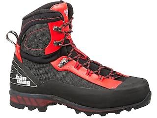 Hanwag Ferrata II GTX Hiking Boots Cordura Black/Red Men's 8 D