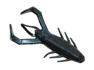 Gene Larew Rattlin Crawler Worm Black Blue