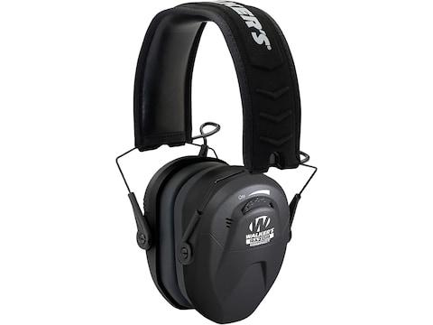 Walker's Razor Compact Youth & Women's Electronic Earmuffs (NRR 23 dB) Black