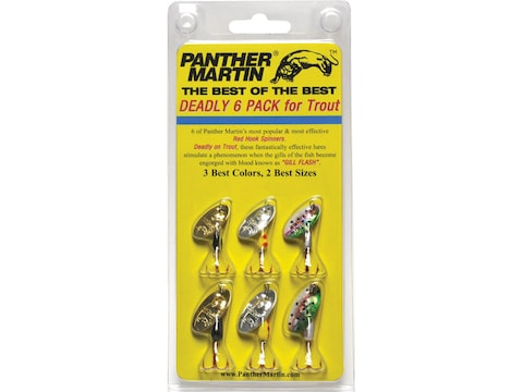 Panther Martin Best of the Best Spinner Kit 1/16-1/8 oz 6PK