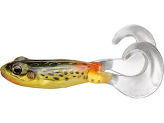 """LIVETARGET Freestyle Frog 3"""" Topwater Emerald/Red"""
