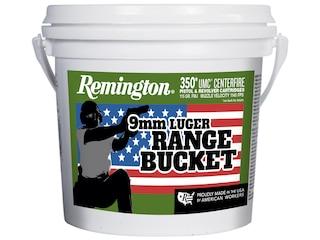 Remington UMC Ammunition 9mm Luger 115 Grain Full Metal Jacket Bucket of 350
