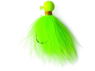 Eagle Claw Marabou Crappie Jig Chartreuse 1/16 oz