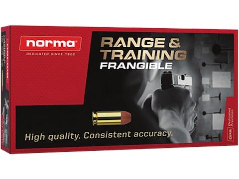 Norma Range & Training Frangible Ammunition 223 Remington 51 Grain Frangible Round Nose...
