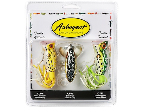 Arbogast Triple Threat Classic Assorted