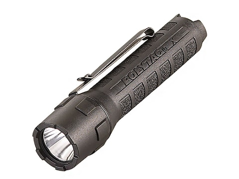 Streamlight PolyTac X Flashlight LED with 2 CR123A Batteries Polymer Black