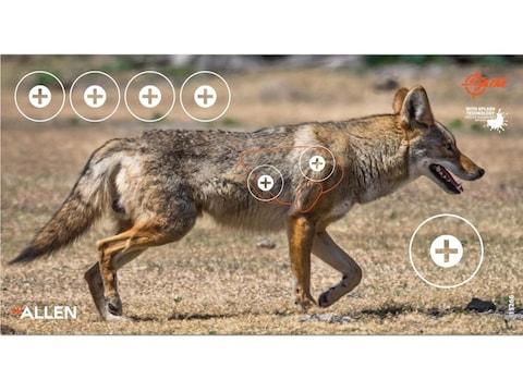 "Allen EZ-Aim Splash Non-Adhesive 12.75""x24"" Coyote Target Pack of 4"