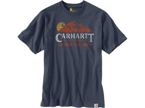 Carhartt Men's Heavyweight Outdoor Explorer Graphic Short Sleeve Shirt