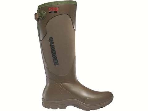 """LaCrosse Alpha Agility 15"""" 1200 Gram Insulated Hunting Boots Rubber/Neoprene Women's"""