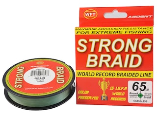 Ardent Strong Braided Fishing Line 65lb 150yd Green
