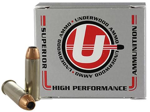 Underwood Ammunition 44 Remington Magnum 240 Grain Jacketed Hollow Point Box of 20