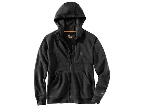 Carhartt Men's Force Delmont Graphic Full-Zip Hooded Sweatshirt Cotton/Polyester