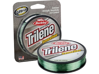 Berkley Trilene Sensation Monofilament Fishing Line 10lb 330yd Low-Vis Green