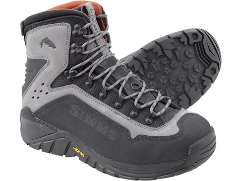 Simms G3 Guide Vibram Wading Boots Leather Men's
