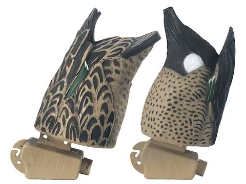GHG Pro-Grade Blue Wing Teal Butt-Up Feeder Duck Decoy Pack of 2
