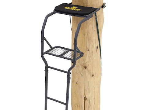 Rivers Edge Basic Single Ladder Treestand Steel Black