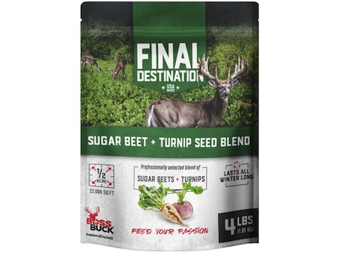 Boss Buck Turnip and Sugarbeet Food Plot Seed 4 lb