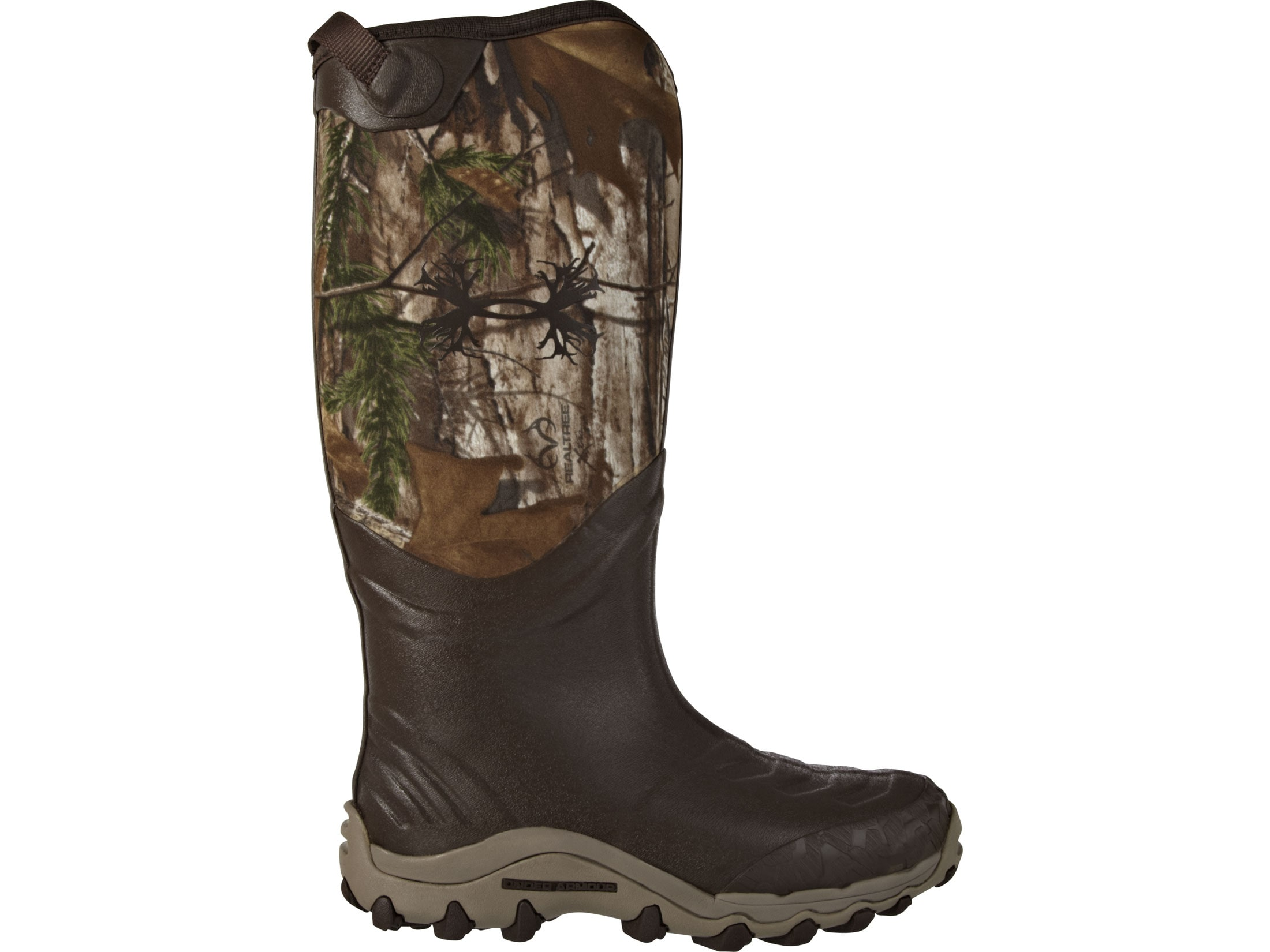 e9a80d845c8 Under Armour H.A.W. 16 Hunting Boots Rubber Neoprene Realtree Xtra