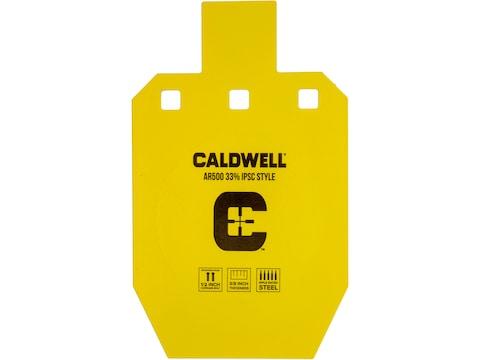 """Caldwell Steel Target IPSC Gong 3/8"""" AR500 Steel"""