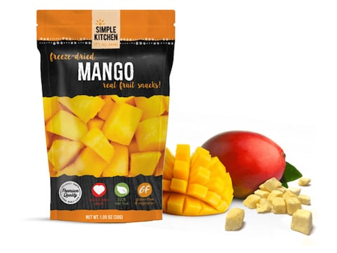 ReadyWise Simple Kitchen Mango Freeze Dried Food