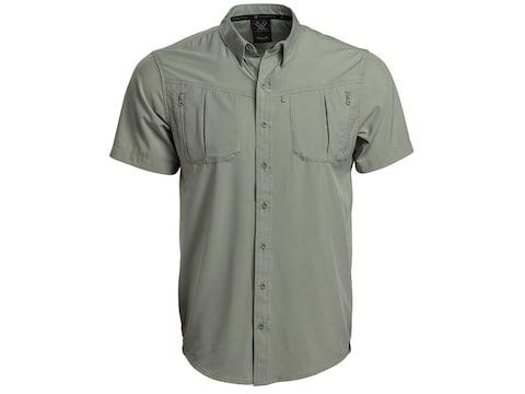 Vortex Optics Men's Fishing Short Sleeve Shirt Polyester