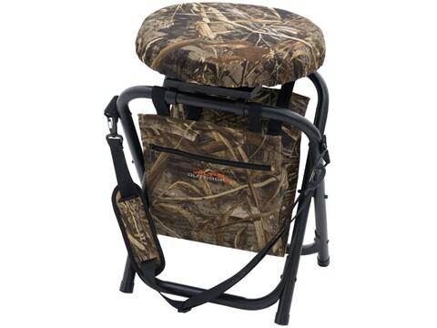 ALPS Outdoorz Horizon Swivel Stool/Chair Steel Realtree Max-4 Camo