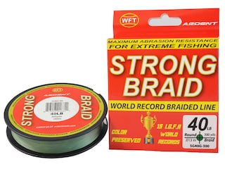 Ardent Strong Braided Fishing Line 40lb 300yd Green