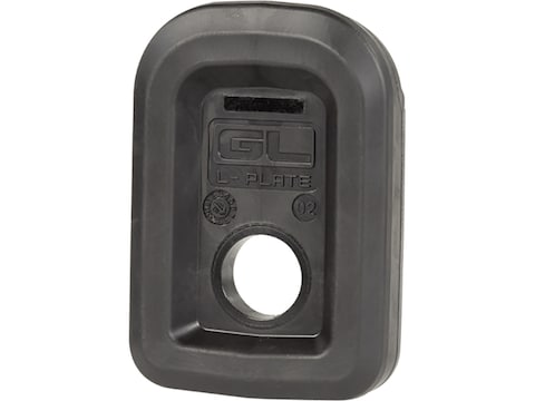 Magpul Tactile Lock Plate for Magpul PMAG GL9 Glock 9mm Polymer Black Package of 3