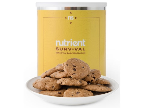 Nutrient Survival Chocolate Chip Cookie Meals Freeze Dried Food 15 Serving