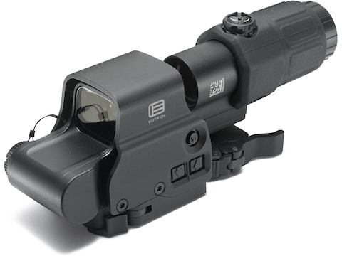 EOTech EXPS3-4 Holographic Hybrid Sight I 65 MOA Circle with (4) 1 MOA Dots Reticle wit...
