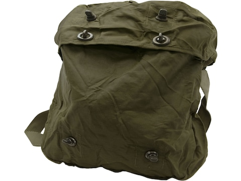 Military Surplus Dutch Medical Bag with Strap Grade 2 Olive Drab