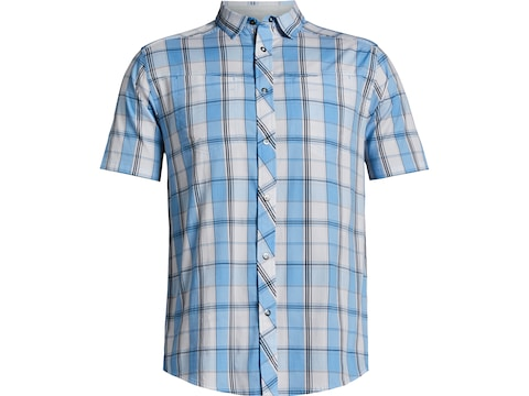 Under Armour Men's UA Hitch Woven Button-Up Short Sleeve Shirt Cotton/Nylon/Elastane