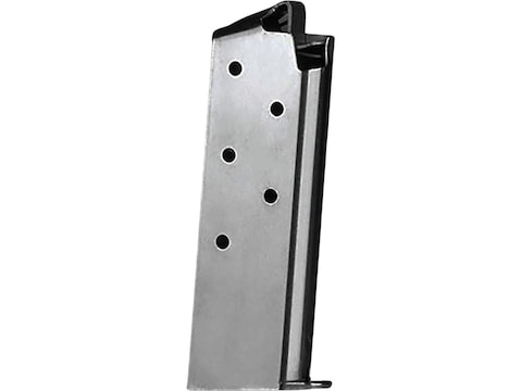 Metalform Magazine Colt Government 380 ACP 7-Round Stainless Steel Welded Base