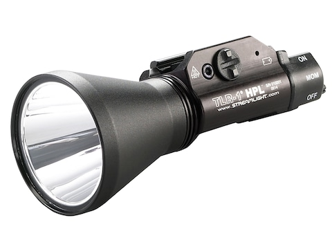 Streamlight TLR-1 HPL Weapon Light LED with 2 CR123A Batteries Fits Picatinny or Glock-...