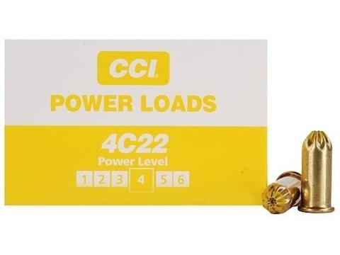 D.T. Systems 22 Caliber Blank Medium Powerloads 70-100 Yard Range Yellow Pack of 100