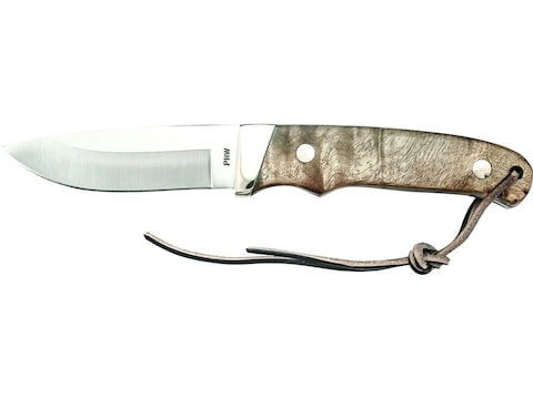 """Old Timer Pro Hunter Fixed Blade Knife 3.6"""" Drop point 7Cr17MoV High Carbon Stainless S..."""