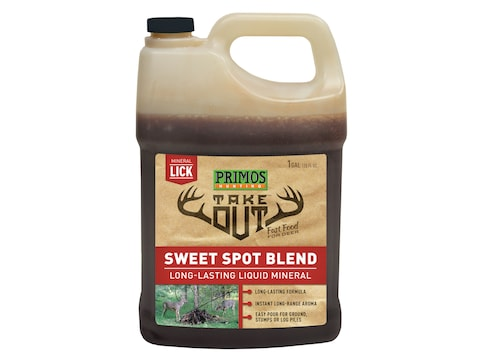 Primos Take Out Liquid Sweet Spot Deer Attractant Liquid 1 Gallon