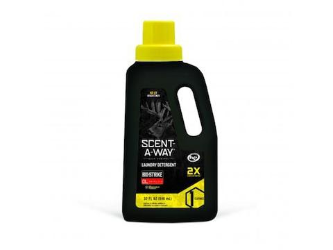 Hunter's Specialties Scent-A-Way Bio-Strike Scent Elimination Laundry Detergent 32 oz