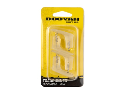 BOOYAH ToadRunner Replacement Tails 4 Pack Opaque