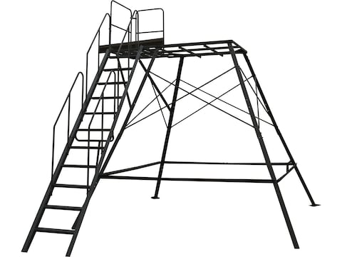 Muddy Outdoors Premium 10' Tower With Staircase